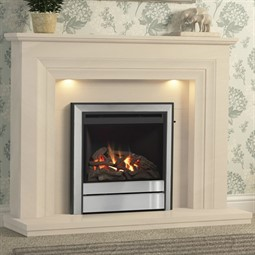 Elgin & Hall Vitalia Limestone Fireplace Suite