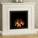 Elgin & Hall Mariella Marble Complete Gas Fireplace Suite