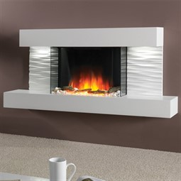 Flamerite Fires Ador Wall or Floor Mounted LED Electric Fire