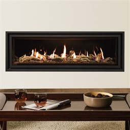 Gazco Studio Edge + Plus MK2 Wall Mounted Gas Fire (Glass Fronted)