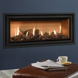 Gazco Studio Edge + Plus MK2 Wall Mounted Gas Fire (Balanced Flue)