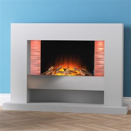 Flamerite Fires Vega LED Electric Fireplace Suite