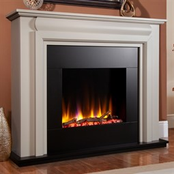 Celsi Ultiflame VR Callisto Electric Fireplace Suite