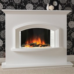 Flamerite Fires Valentino 2 Electric Fireplace Suite