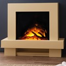 Flamerite Fires Jaeger 600 Wall or Floor Standing Electric Fireplace Suite