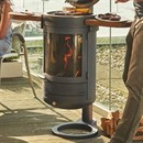 Chesneys Heat Collection HEAT 400 Wood Burning Barbecue / Outdoor Stove Heater