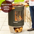 Chesneys Heat Collection HEAT 500 Wood Burning Barbecue / Outdoor Stove Heater