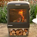 Chesneys Heat Collection HEAT 600 Wood Burning Barbecue / Outdoor Stove Heater