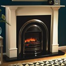 Flamerite Fires Bronte with Tennyson Electric Fireplace Suite