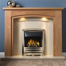 Gallery Allerton Wooden Fireplace Suite