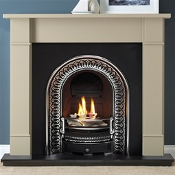 Gallery Forano Chatsworth Grey Fireplace