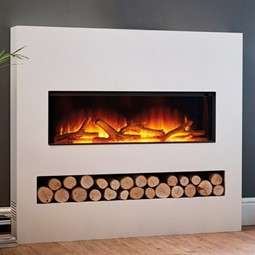 Flamerite Fires Gotham 900 Electric Fire with Freestanding Suite