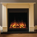 Flamerite Fires Bronte with Gotham 750 Electric Fireplace Suite