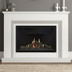 Elgin & Hall Cassius 950 Marble Gas Fireplace Suite