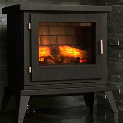 Eko Fires 1350 LED Electric Stove - Black