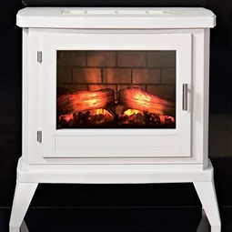 Eko Fires 1350 LED Electric Stove - White