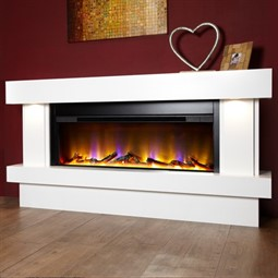 Celsi Electriflame VR Orbital Illumia Electric Fireplace Suite