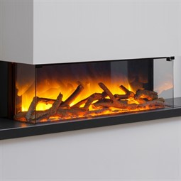 Flamerite Fires Glazer 900 3-Sided Wall Mounted Electric Fire