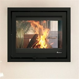 Dik Geurts Instyle / Prostyle Tunnel EA Wood Burning Fire