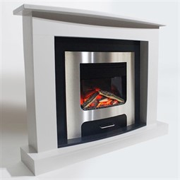 Pureglow XP10 Electric Fireplace Suite