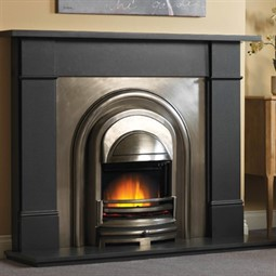 Cast Tec Flat Victorian Granite Fireplace