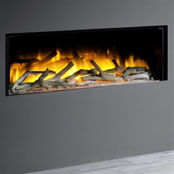 Flamerite Fires Glazer 1000 1-Sided Inset Electric Fire