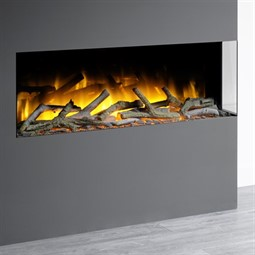 Flamerite Fires Glazer 1000 2-Sided Inset Electric Fire
