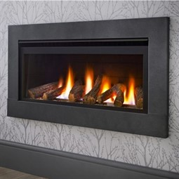 Crystal Fires Boston Wide Gas Fire