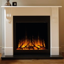 Flamerite Fires Corbel with Gotham 750 Electric Fireplace Suite