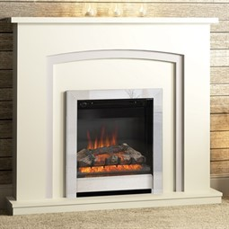 AMAZING OFFER! Tasmin Marble Fireplace with Gas or Electric Fire