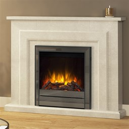 Elgin & Hall Farnham Deluxe Marble Electric Fireplace Suite