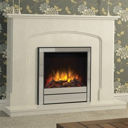 Elgin & Hall Newham Deluxe Marble Electric Fireplace Suite