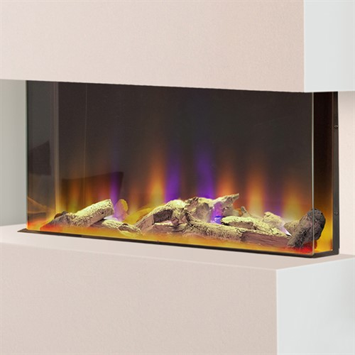 Celsi Electriflame VR 750 3-Sided Wall Mounted Electric Fire