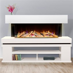 Celsi Electriflame VR Media 1100 Illumia Electric Fireplace Suite