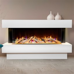 Celsi Electriflame VR Carino 1100 Illumia Electric Fireplace Suite