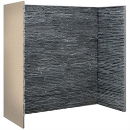 Gallery Graphite Slate Waterfall Fireplace Chamber Panels