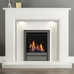 Elgin & Hall Mosello Marble Fireplace Suite