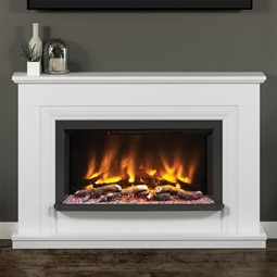 Elgin & Hall Pryzm Lavina Electric Fireplace Suite