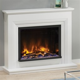 Elgin & Hall Pryzm Velino Electric Fireplace Suite