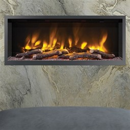 Elgin & Hall Pryzm Volta Inset Hole in the Wall Electric Fire