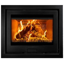 Di Lusso Eco R6 Slimline Inset Wood Burning Stove