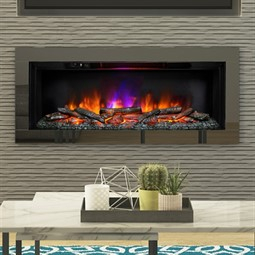 Be Modern Avella Grande Wall Mounted Inset Electric Fire