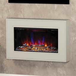Be Modern Albali Wall Mounted Electric Fireplace Suite