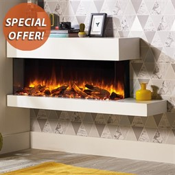 Gazco eReflex Trento Suite 110W Electric Fireplace Suite
