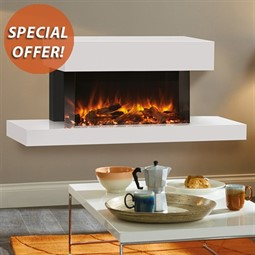 Gazco eReflex Trento Suite 70W Electric Fireplace Suite