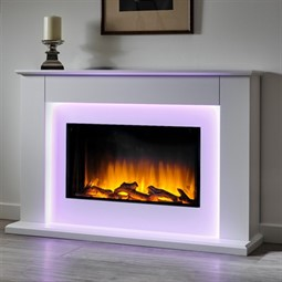 Flamerite Fires Telisa Electric Fireplace Suite