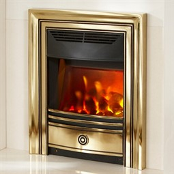 Valor Dimension Classica Electric Fire - Brass