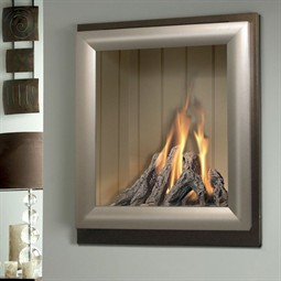 Verine Meridian HE Wall or Hearth Mounted Gas Fire