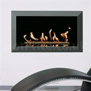 Gazco Studio Bauhaus Wall Mounted Gas Fire (Open Fronted)