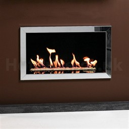 Gazco Studio Profil Wall Mounted Gas Fire (Open Fronted)